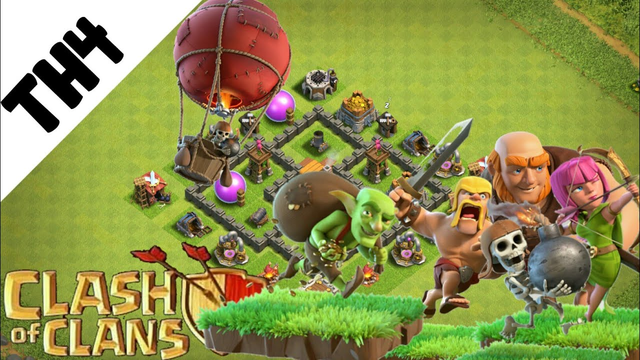 Base Town Hall 4  (TH4) baru 2020 - Clash of Clans