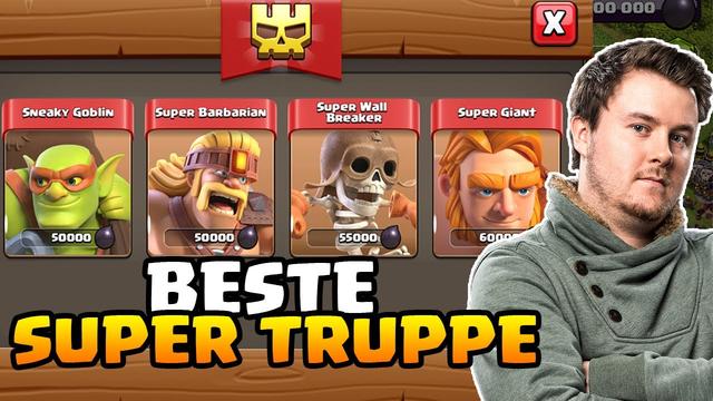 Das Update ist DA | Welche Supertruppe ist die Beste ? | Clash of Clans [2020]