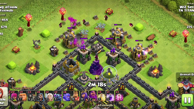 Clash of Clans Town Hall 10 attack for 3 star