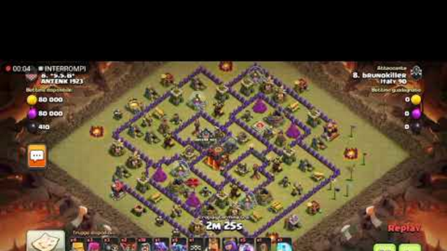 Attacco clash of clans th10