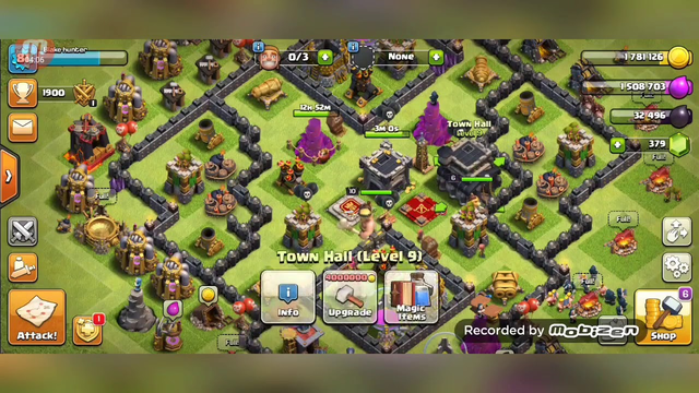 Town Hall 8 attack strategys ....clash of clans ----Black Hunter