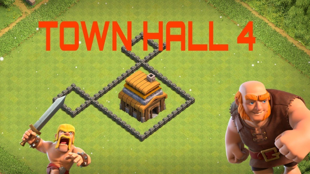 NEW BEST Town Hall 4 (TH4) Base in 2020 - Clash of Clans