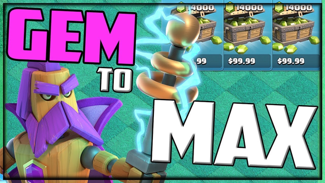 The WHOLE Clash of Clans UPDATE - Gemmed to MAX in Minutes!