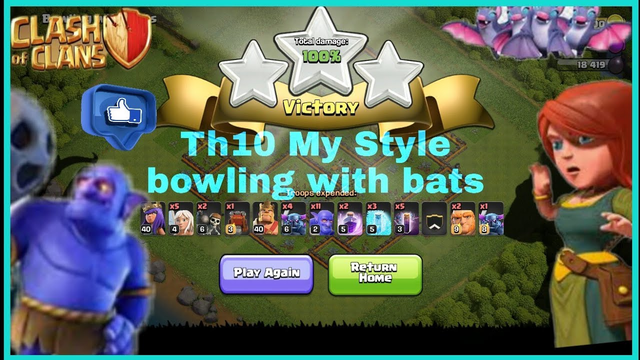 Th10 practice mode in My Style !!!    Clash of clans    @dityaraj clash on   