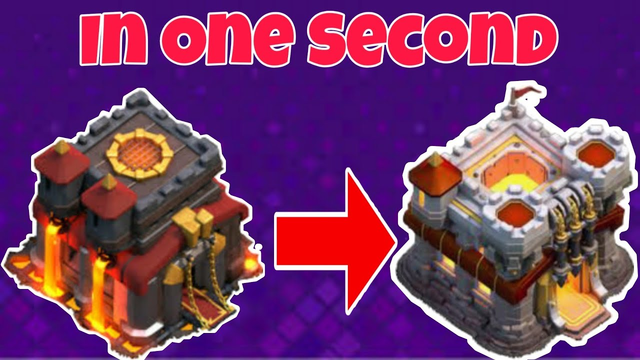 TH10 To TH11 Upgrad In One Second, Clash Of Clans COC