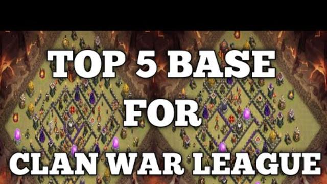 TOP 10 Clan War League Th 10 Base   CWL   Clash of Clans
