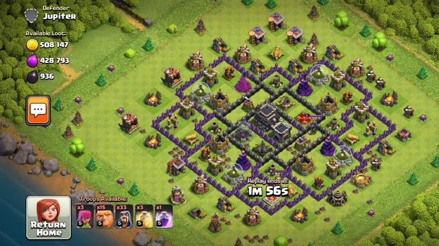Defense attack vs my attack ,Clash of clans big loot