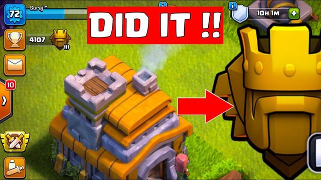 We Did It Again | Th7 Titan League | Clash Of Clans