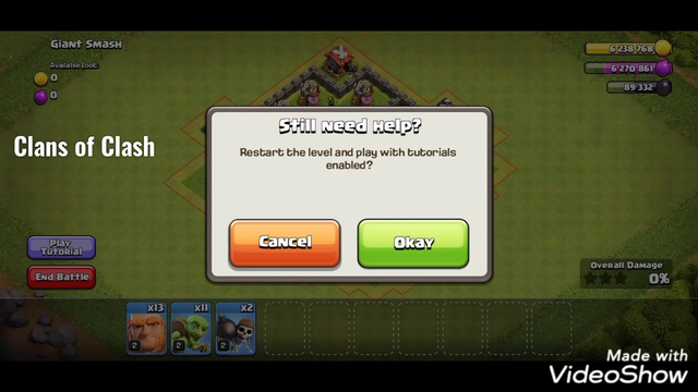 Clash of clans practice th4. Ep1