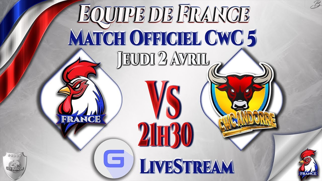 COUPE DU MONDE CLASH OF CLANS   FRANCE vs ANDORRE   CWC S5