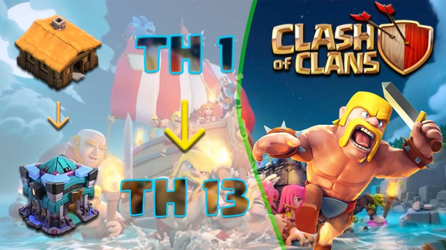 PLAYING CLASH OF CLANS LIVE | TOWNHALL 1 TO TOWNHALL 13 | COC MAINTAINENCE | PENTA RISHABH