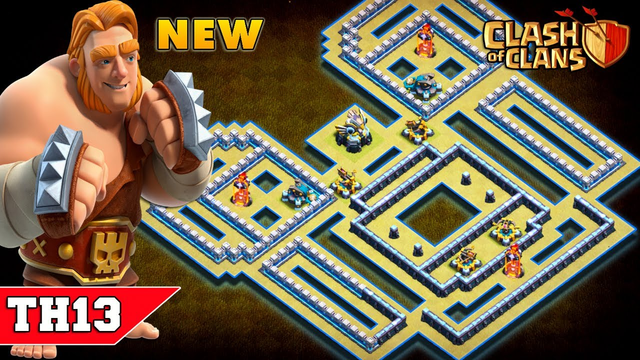 TH13 CWL BASE 2020 with COPY LINK   CoC Town Hall 13 War Base Design/Layout/Defense   Clash of Clans