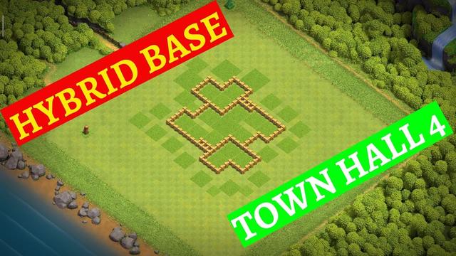 Clash of Clans Hybrid base (TH5) | Clash of Clans