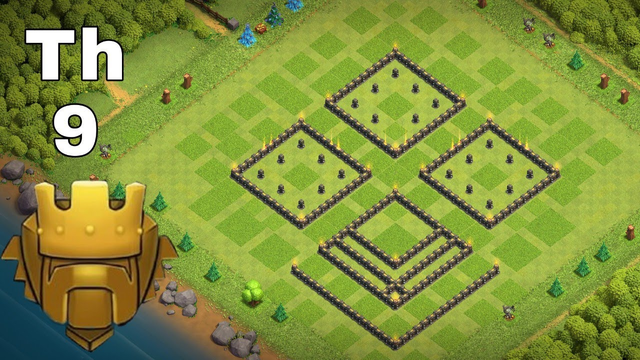 INSANE Town Hall 9(TH9) with link/TROPHY Base 2020!! New BEST TH9 Base Design/Defense Clash of Clans