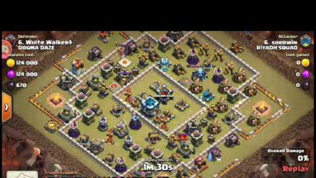 Clash Of Clans Town Hall 13 Defense in Clan War League