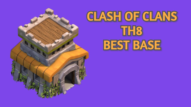 Clash Of Clans   Best Town hall 8 Base For Trophees   april 2020