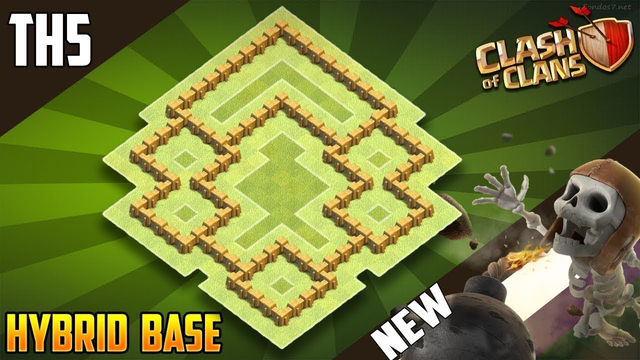 EPIC BASE! TH5 FARMING (defense) base 2020 Town Hall 5- Clash of Clans