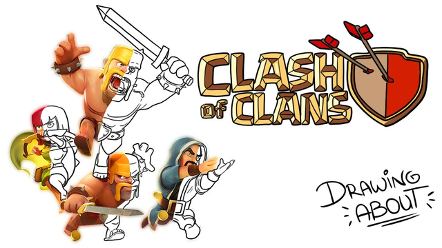 CLASH OF CLANS | Draw My Life