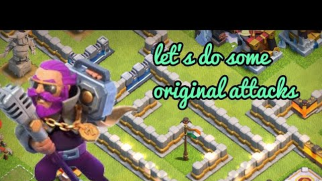 Let's Do Some Good Attacks In Clash Of Clans