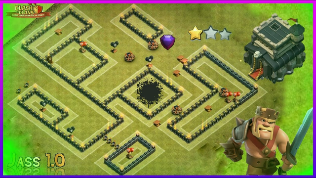 Clash Of Clans Town Hall 9 (th9) Base | Anti 3 Star | coc