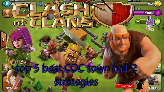 top best 5 clash of clans town hall 2 strategies