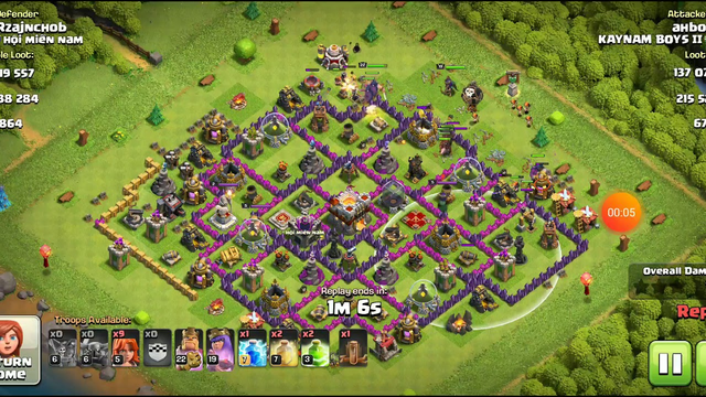 Clash of Clans TH 11 Loots