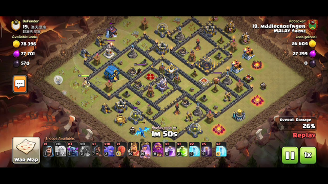 Clash of Clans | TH 11 VS TH 12 failed or 3 stars?