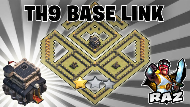 AMAZING TH9 BASE WITH LINK 2020 | CLASH OF CLANS
