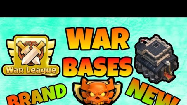 Th9 cwl war bases with link.....clash of clans/coc