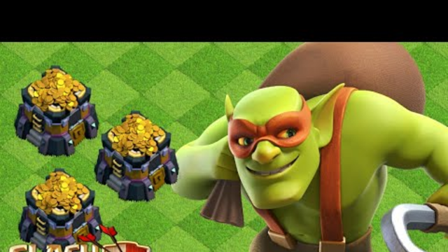 Farming With Sneaky Goblin ! #Clashofclans