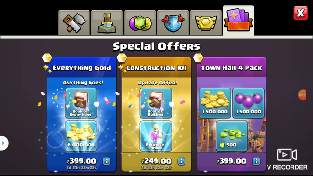 Clash of clans  (Town Hall 4)