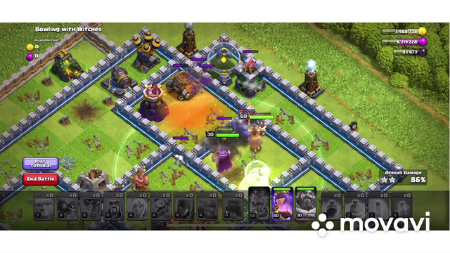 Strategy attack th 12 and th11 clash of clans