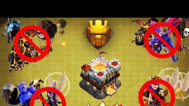 In Clash of Clans! Best th9 war base ever I seen in that th11 fails