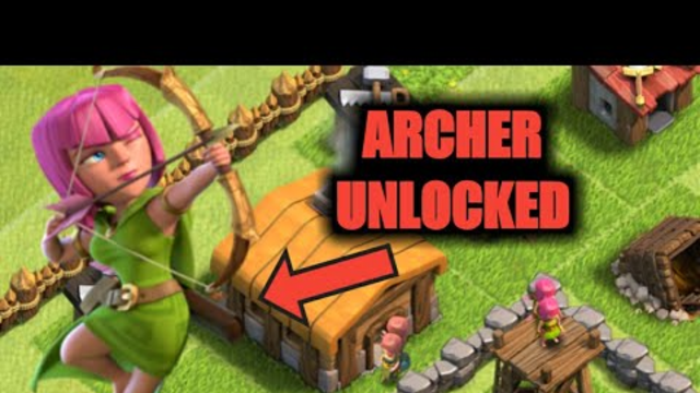 UNLOCKING THE ARCHER!!! TH2 Lets Play - Clash of Clans