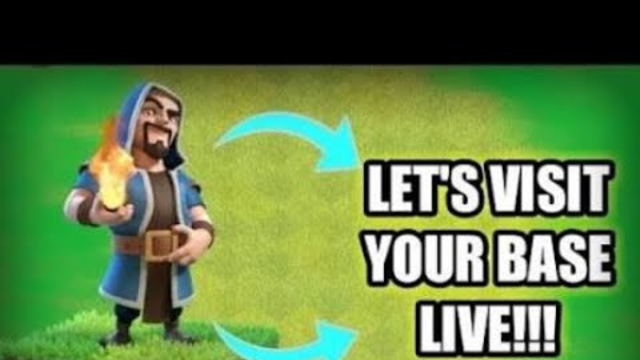 PLAYING CLASH OF CLANS ALL TOWNHALL AND BASE VISITING