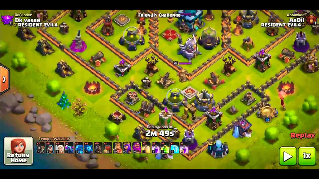 Clash of clans Th11 attacks Th13 a unique strategy Best ever Th11 attack strategy