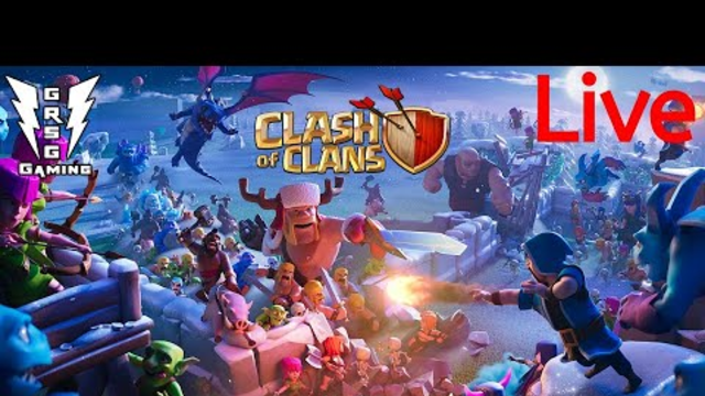Clash Of Clans Live Stream new Update  do some fun like and subscribe