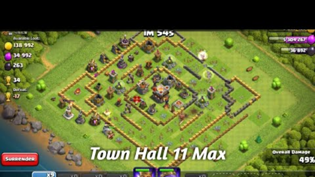 new video Clash of Clans Max ID attack