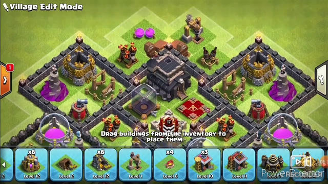 Best Clash Of Clans TH9 Layout! Best Farming And Defensive Base!! Lost Sky- Fearless