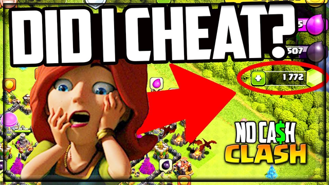 They Say I CHEATED! Clash of Clans No Cash Clash #54