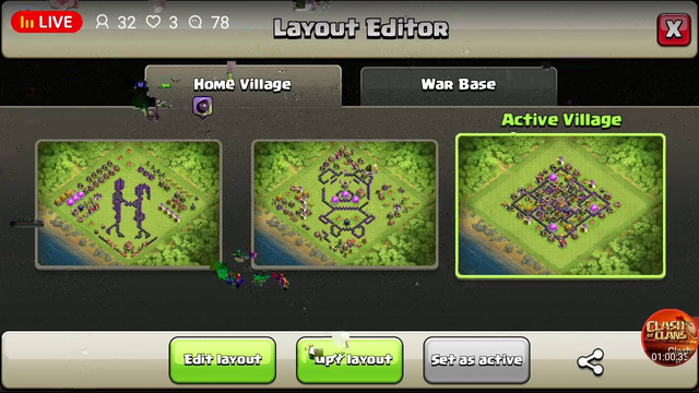 Clash Of Clans | Live