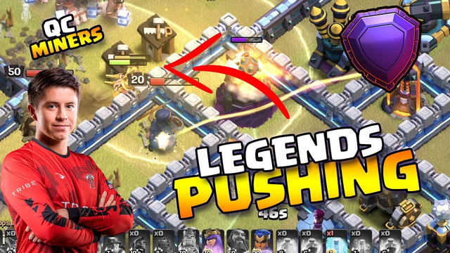 The Best Legends League Army For Pushing in Clash of Clans!