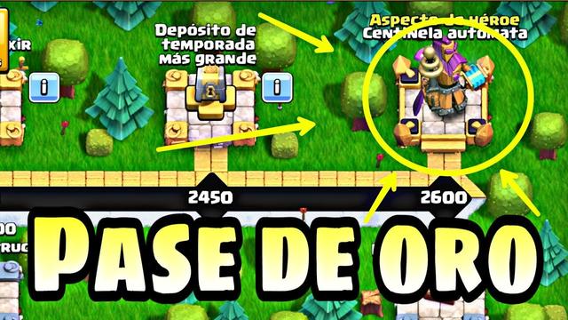 COMPRO EL PASE DE ORO ABRIL| CLASH OF CLANS