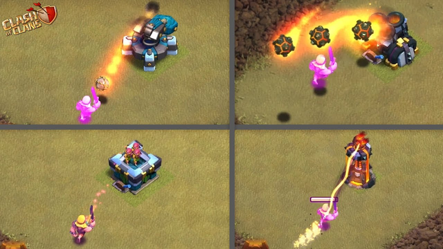 MAX SUPER BARBARIAN vs ALL LEVEL DEFENCES | CLASH OF CLANS | |