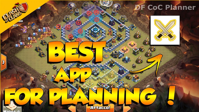 Best App for Planning in Clash of Clans - Df strategy planner