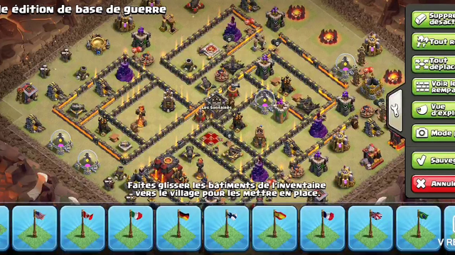 LA MEILLEUR BASE HDV10 GDC 2020 !! CLASH OF CLANS