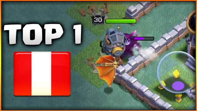 TOP 1 de PERU con MONTAPUERCOS - CLASH OF CLANS