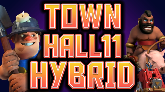 TOWN HALL 11 HYBRID 3 Star Strategy | Attack Breakdown | Clash of Clans