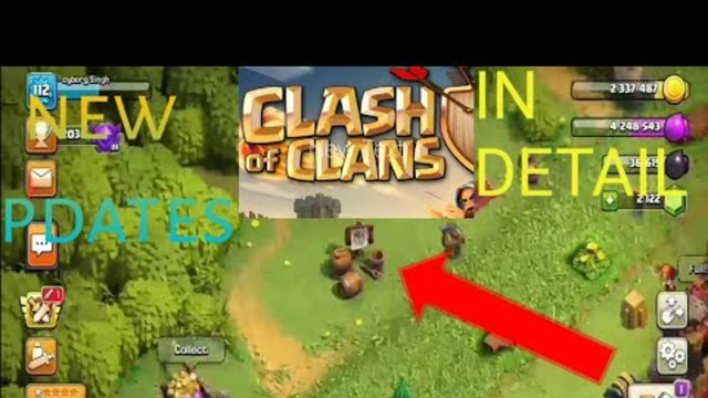 New updates of clash of clans ( full in detail explained)