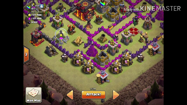 Clash of clans #1 (battle day)